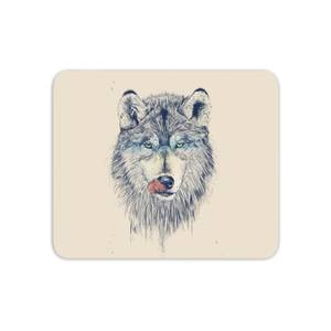 Wolf Eyes Mouse Mat