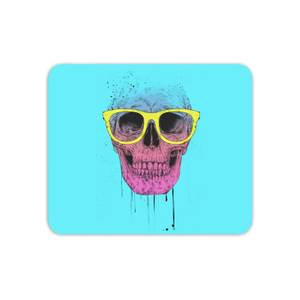 Skull And Glasses Mouse Mat