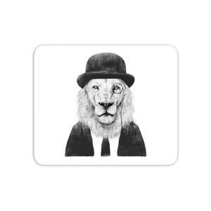 Monocle Lion Mouse Mat