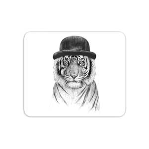 Tiger In A Hat Mouse Mat