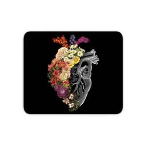 Flower Heart Spring Mouse Mat
