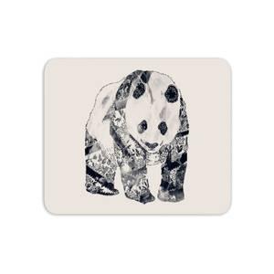 Tattooed Panda Mouse Mat