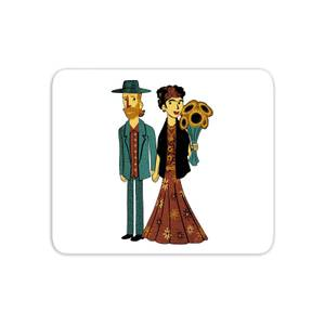 Love Is Art - Frida Kahlo And Van Gogh Mouse Mat