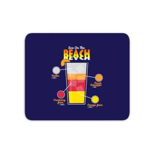 Infographic Sex On The Beach Mouse Mat