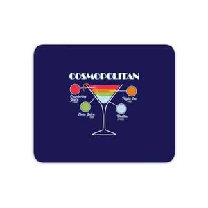 Infographic Cosmopolitan Mouse Mat