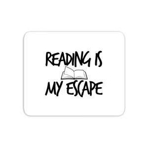 Reading Is My Escape Mouse Mat