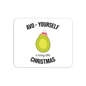 Avo-Yourself A Merry Little Christmas Mouse Mat