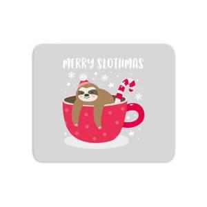 Merry Slothmas Mouse Mat