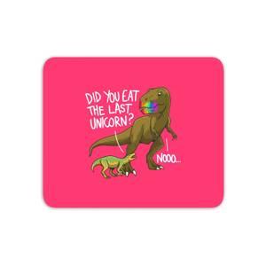 Dinosaur Unicorn Mouse Mat