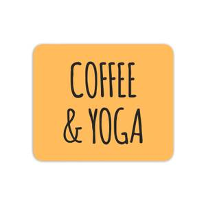 Coffee And Yoga Mouse Mat