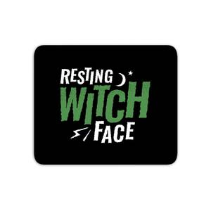 Resting Witch Face Mouse Mat