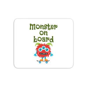 Monster On Board Mouse Mat