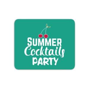 Summer Cocktails Party Mouse Mat
