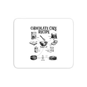 Chocolate Cake Recipe Mouse Mat