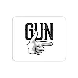 Gun Mouse Mat