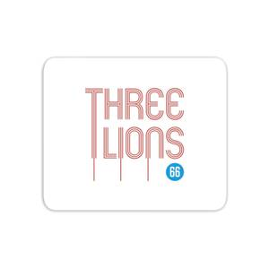 Three Lions Mouse Mat