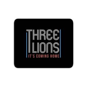 Three Lions It's Coming Home Mouse Mat