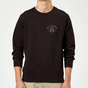 Braille Skateboarding Bridge Sunset Pocket Sweatshirt - Black