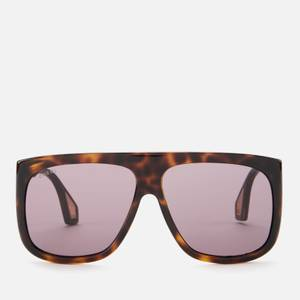 Gucci Men's Injection Square Frame Sunglasses - Havana/Grey
