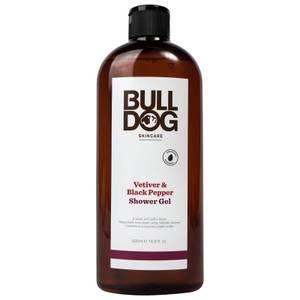 Bulldog ブラックペッパー&ベチバーシャワージェル 500ml