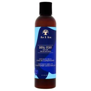As I Am Dry and Itchy Scalp Care Olive and Tea Tree Oil Leave in Conditioner 237ml