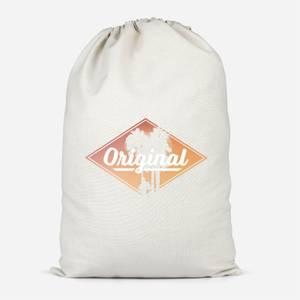 Original Palm Trees Cotton Storage Bag
