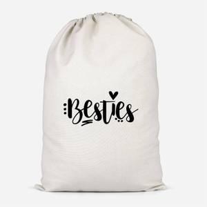 Besties Cotton Storage Bag