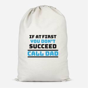 Call Dad Cotton Storage Bag