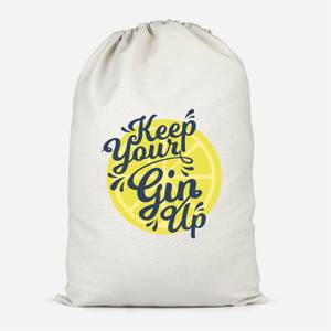Keep Your Gin Up Cotton Storage Bag