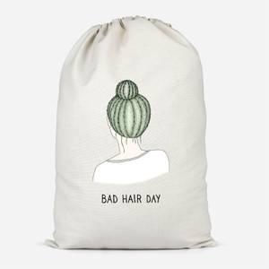 Bad Hair Day Cotton Storage Bag