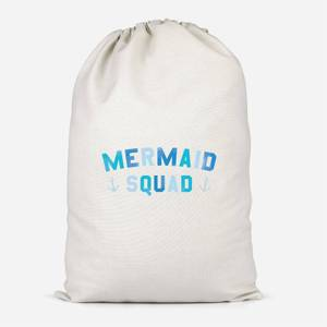 Mermaid Squad Cotton Storage Bag