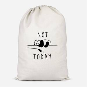 Not Today Cotton Storage Bag