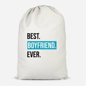 Best Boyfriend Ever Cotton Storage Bag
