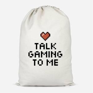 Talk Gaming To Me Cotton Storage Bag