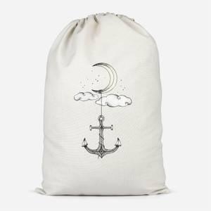 Anchor Your Dreams Cotton Storage Bag