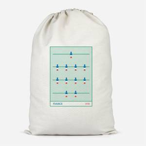 France Fooseball Cotton Storage Bag
