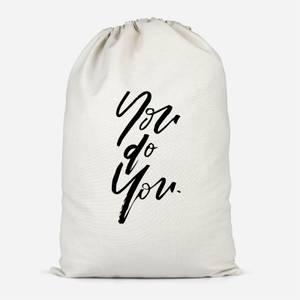 You Do You Cotton Storage Bag