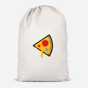 Pizza Slice Cotton Storage Bag