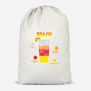Infographic Sex On The Beach Cotton Storage Bag