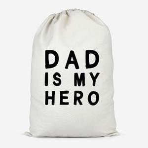 Dad Is My Hero Cotton Storage Bag