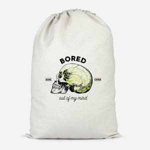 Bored Out Of My Mind Cotton Storage Bag