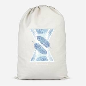 Feathers Cotton Storage Bag