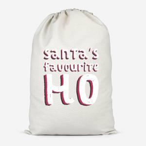 Santa's Favourite Ho Cotton Storage Bag