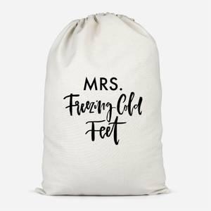 Mrs. Freezing Cold Feet Cotton Storage Bag