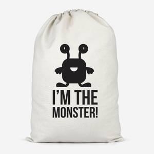 I'm The Monster Cotton Storage Bag