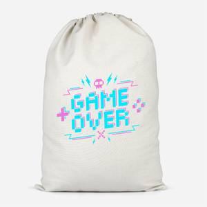 Game Over Gaming Cotton Storage Bag