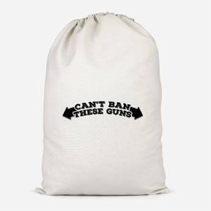 Can't Ban These Guns Cotton Storage Bag