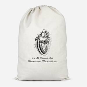 Premature Ventricular Contractions (FR) Cotton Storage Bag