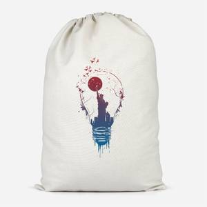 NYC Moon Cotton Storage Bag