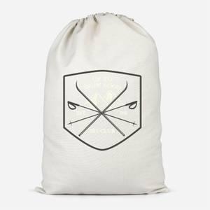 Up To Snow Good Cotton Storage Bag
